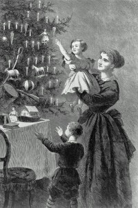 czech ancestors christmas tree